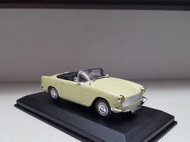 Simca Oceane Cabrio 1958 hellgelb