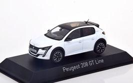 Peugeot 208 II GT Line seit 2019 weiss