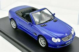 Mercedes-Benz 600 SL R230 Phase I 2001-2006 blau met.