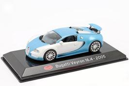 Bugatti Veyron 16.4 2005-2015 hellblau met. / weiss met.