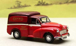 Morris Minor Van II 1956-1971 Oxford Motor Services rot