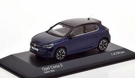 Opel Corsa F seit 2019 Nautic blau met. / schwarz
