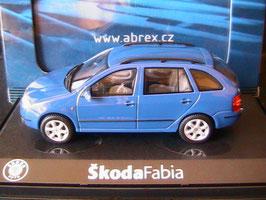Skoda Fabia I Combi 1999-2007 blau