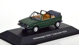 VW Golf I Cabriolet Phase I 1979-1987 dunkelgrün met.