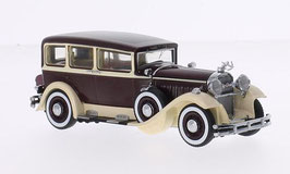 Pierce-Arrow Model 133 1929 dunkelrot / beige