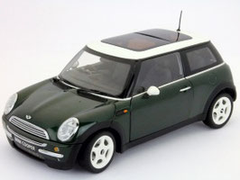 Mini Cooper RHD 2004-2008 dunkelgrün / weiss