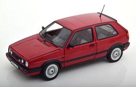 VW Golf II GTI Phase III 1989-1992 rot / schwarz
