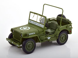 "Jeep Willys MB 1942-1945 ""US Army WWII oliv / weiss"""