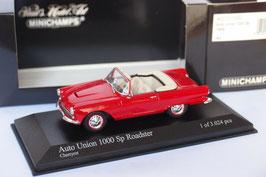 Auto Union 1000 Spezial Roadster 1961-1965 Cherryrot