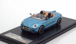 Mini Superleggera Roadster Vision Concept 2014 hellblau met.