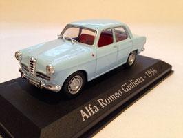 Alfa Romeo Giulietta Berlina 1. Serie 1954-1959 hellblau