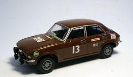 Austin Allegro Works RallyCar #13 1975 braun