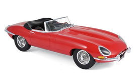 Jaguar E-Type Roadster Series I 1961-1968 rot / schwarz
