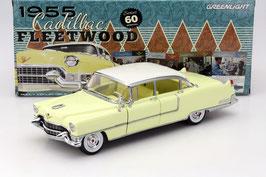 Cadillac Fleetwood Series 60 1955 gelb / weiss