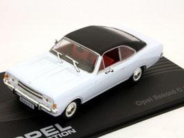 Opel Rekord C Coupé 1966-1972 hellblau / schwarz
