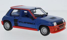 Renault 5 Turbo 1980-1982 dunkelblau met. / orange