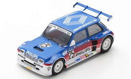 Renault 5 Maxi Turbo #25 Superproduction 1987 Erik Comas blau / Decor