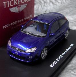 Ford Focus MK I RS 2002-2003 RHD Imperial blau met.