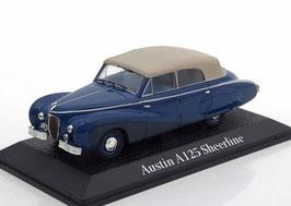 "Austin A125 Sheerline Cabriolet Vesters & Neirinck 1949 ""Leopold III"" dunkelblau / beige"