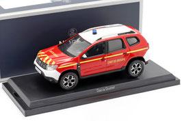 "Dacia Duster II seit 2018 ""Feuerwehr Chef de Groupe rot / weiss / gelb"""