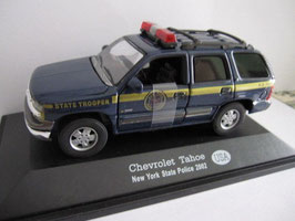 "Chevrolet Tahoe II 1999-2006 ""New York State Police"" dunkelblau / gold"