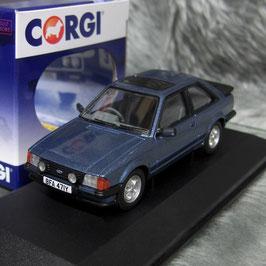 Ford Escort MK III XR3 1980-1985 RHD Caspian blau met.
