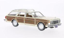 Chrysler Le Baron Town & Country 1979-1981 beige / Holzoptik