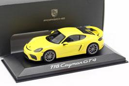 Porsche 718 Cayman GT4 982 seit 2019 gelb