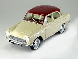 Simca Aronde P60 Berline 1958-1964 creme / dunkelrot