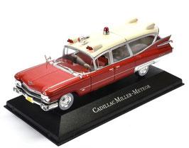 Cadillac Miller-Meteor Ambulance 1959 rot / creme