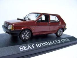 Seat Ronda 1983-1986 dunkelrot met.