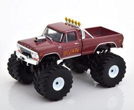 Ford F-250 Goliath Monster Truck 1979 dunkelrot met.