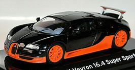 Bugatti Veyron 16.4 Super Sport 2010 schwarz / orange