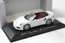 Porsche 911 / 991 Turbo S Cabriolet 2013-2015 weiss