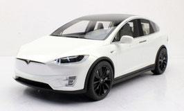 Tesla Model X P100D Phase I 2015-2021 weiss met. / schwarz