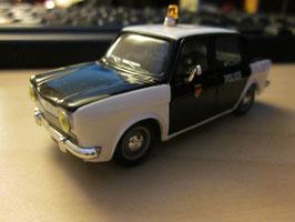 Simca 1000 Phase I 1961-1968 Police weiss / schwarz