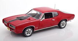 Pontiac GTO Royal Bobccat 1968 dunkelrot / schwarz