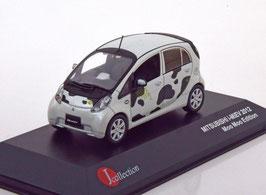 "Mitsubishi i-MIEV Phase I 2009-2014 ""Moo Moo Edition 2012"" schwarz / weiss"