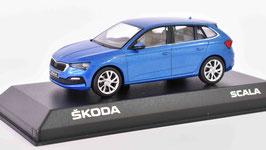 Skoda Scala seit 2019 Race blau met.