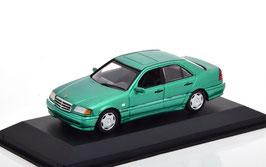 Mercedes-Benz C-Klasse W202 Phase III 1997-2000 hellgrün met.