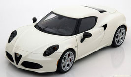 Alfa Romeo 4C Coupé 2013-2020 weiss met.
