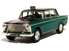 "Fiat 1500 L 1963-1968 ""TAXI Milano 1963"" dunkelgrün / schwarz"