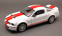 Ford Mustang Shelby GT500 2007 weiss / rot
