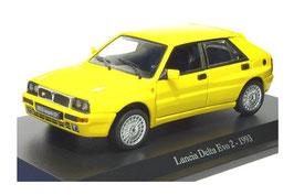 Lancia Delta HF Integrale Evoluzione II 1993-1994 gelb