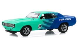 """Chevrolet Camaro Tuning 1969 """"Falken Tires hellgrün / dunkelblau"""""""