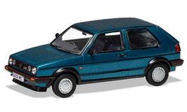 VW Golf II GTI 16V Phase II 1987-1989 RHD dunkeltürkis met.