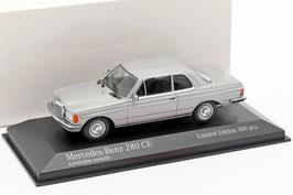 Mercedes-Benz 280 CE C123 1977-1985 Astral silber met.