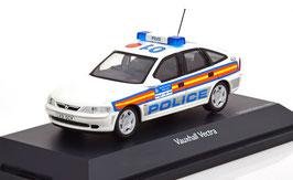 Vauxhall Vectra B Fliessheck 1997 Metropolitan Police weiss / blau / orange / gelb