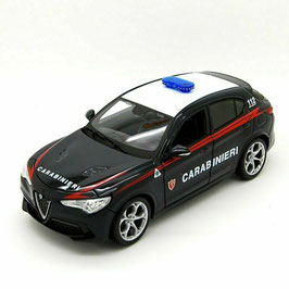 Alfa Romeo Stelvio seit 2017 Carabinieri dunkelblau / weiss / rot