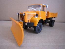 Berliet L 64-6 M3 4x4 Schneeräumfahrzeug 1967 orange